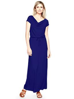 Drapey maxi dress, Gap